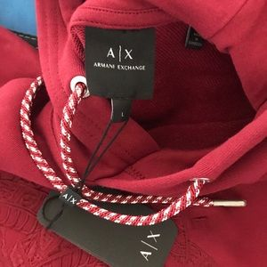 Armani exchange hoodie
